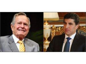 Başbakan Neçirvan Barzani Bush için başsağlığı diledi