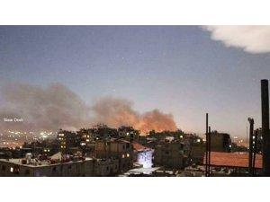 İsrail jetlerinden Şam'a saldırı