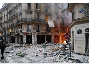 Paris'te patlama: Yaralılar var