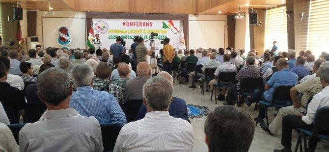 PAK Diyarbekır'da ''Lozan Antlaşması ve Kürdistan'' Konferansı'nı gerçekleştirdi