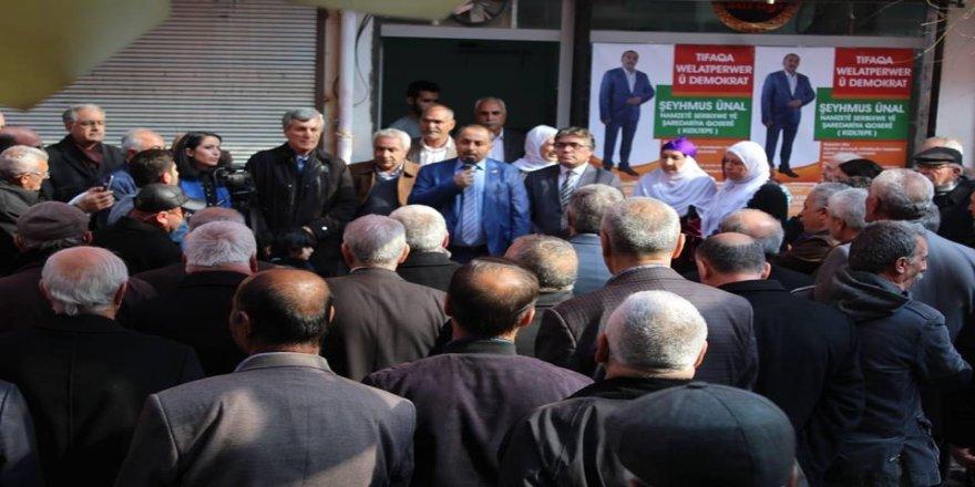 Yurtsever Demokrat İttifak Kızıltepe Bürosu Kitlesel Bir Katılımla Açıldı
