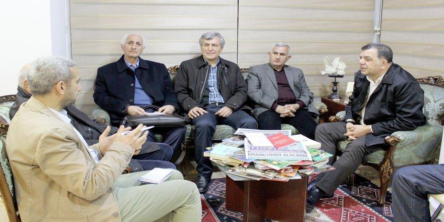 Diyarbakır Büyükşehir ve merkez ilçe adayları Tigris Haberi ziyaret etti