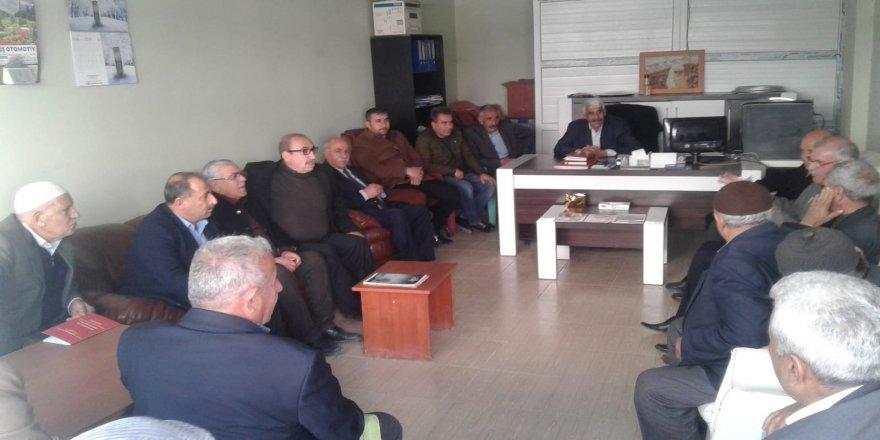 Mardin bağımsı adaylardan dernek ziyaretleri