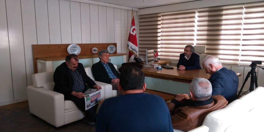 Bağımsız adaylardan Güncel Gazetesi'ne ziyaret