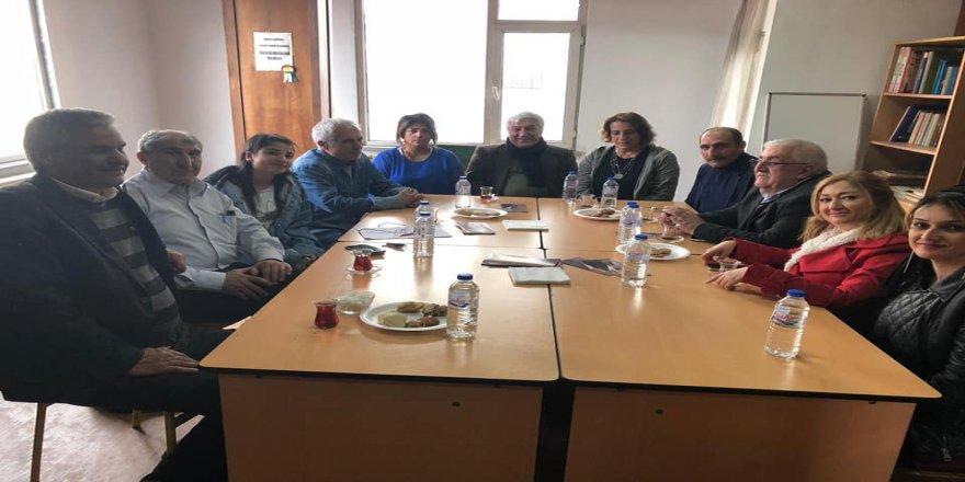 İstanbul Bağımsız Adayı M. Celal Baykara'dan SES ve Kürt-Kav'a ziyaret