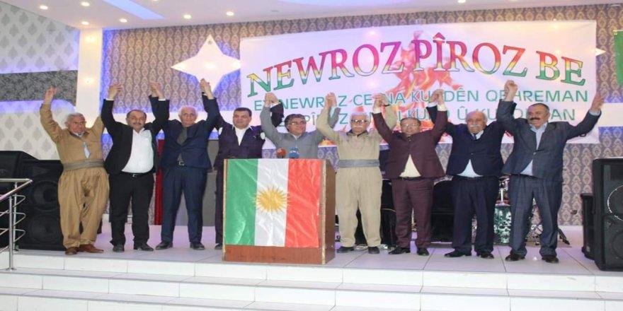 Yurtsever Demokrat İttifak'tan coşkulu Newroz kutlaması