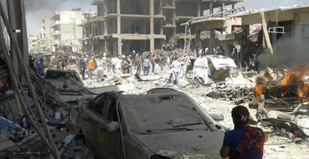 Suriye'deki Şiddetli Patlama Nusaybin'i Etkiledi: 2 Yaralı