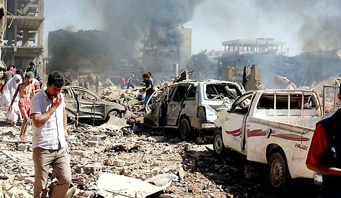Qamışlo'da intihar saldırısı: En az 37 sivil hayatını kaybetti