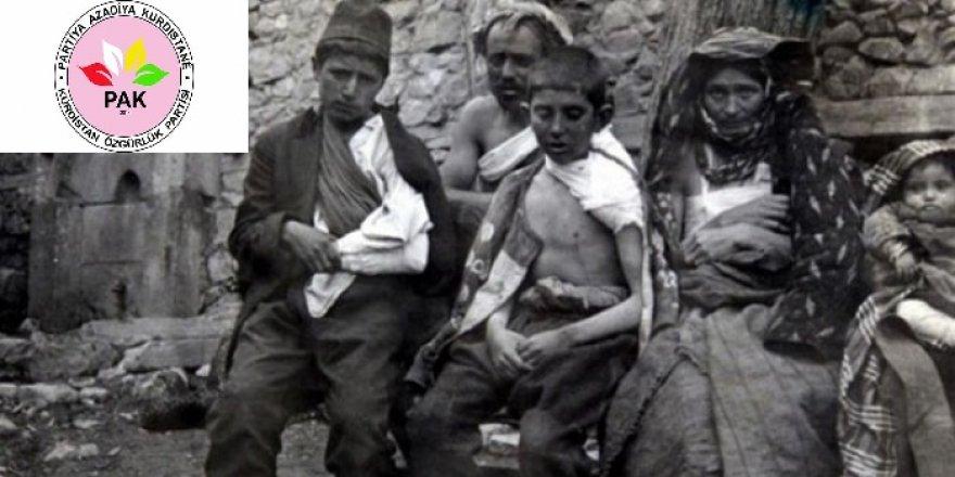 PAK: 'Ermeni Soykırımını lanetliyoruz'