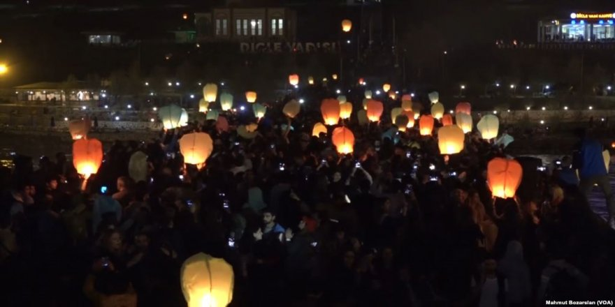 Diyarbakır'da Dilek Feneri Festivali