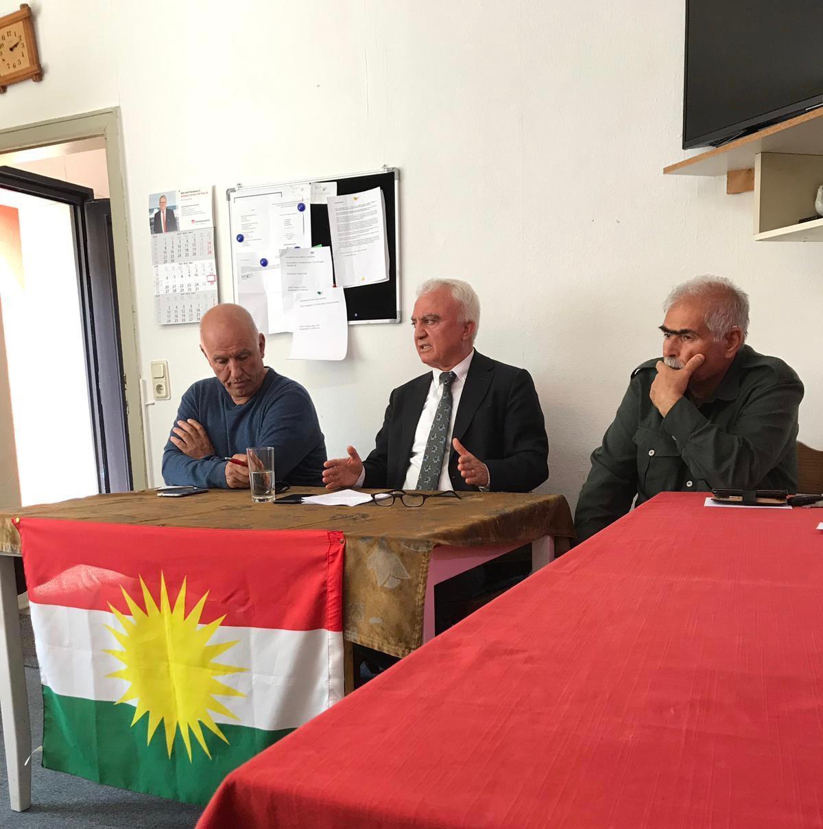 Kasım Ergün: Kürdistani partiler arasındaki ittifak önemli