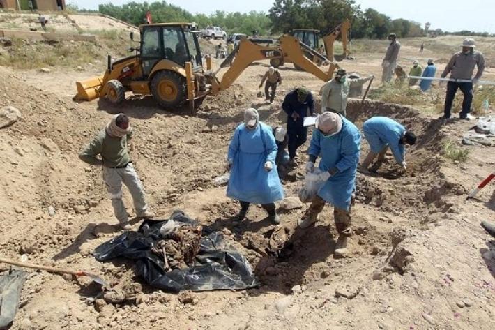Toplu mezarların açılması Ramazan sonuna kaldı