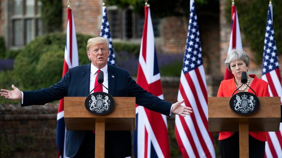Trump ve May: İran'da aynı hedefe ulaşmak istiyoruz