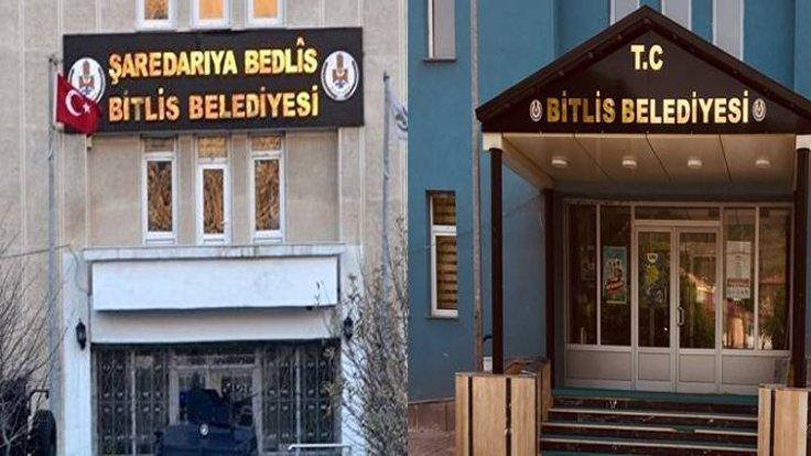 Bitlis Belediye Başkanı'ndan Kürtçe tabelanın kaldırılmasına ilişkin ilginç açıklama