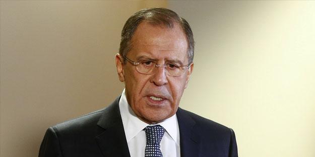 Lavrov: Türkiye elini çabuk tutsun!