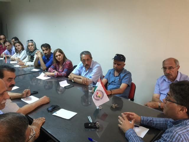 PAK Genel  Başkanı PAK Van İl  Teşkilatı'nı  Ziyaret  Etti