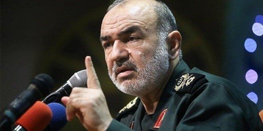 İran'lı General: Füzelerimiz gemileri rahatlıkla vurabilir