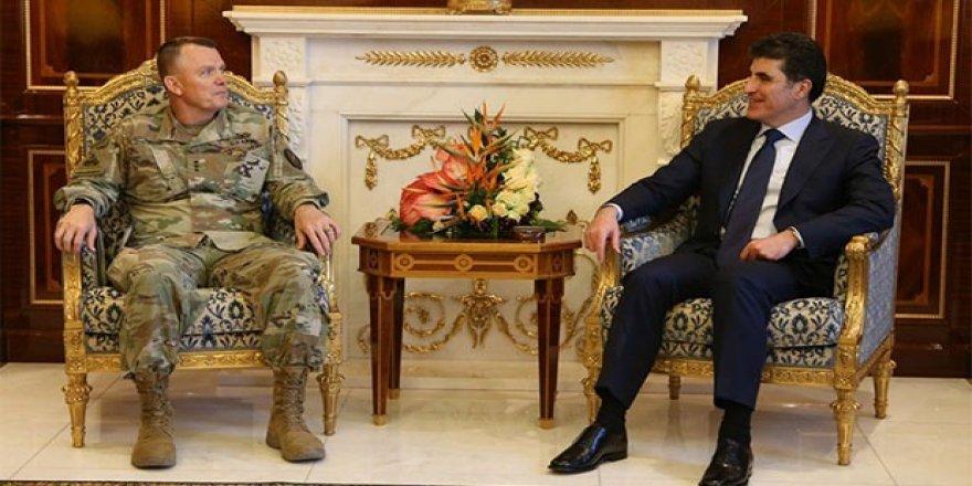 Neçirvan Barzani ABD'li generalle görüştü