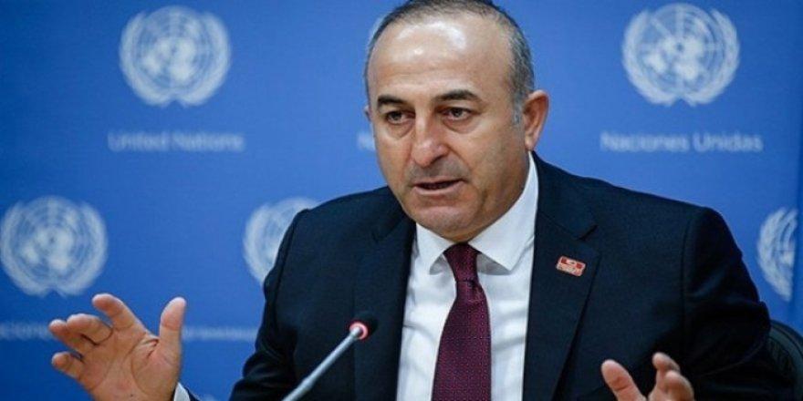 Bakan Çavuşoğlu: BM'ye YPG için yazılı protestomuzu ilettik