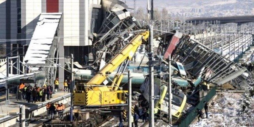 Ankara'daki tren faciasına ilişkin rapor açıklandı