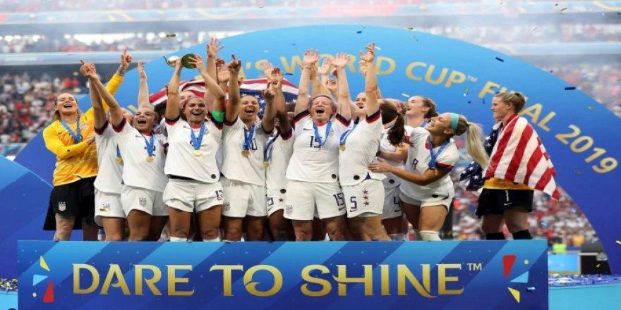 2019 Kadınlar Dünya Kupası'nda şampiyon ABD