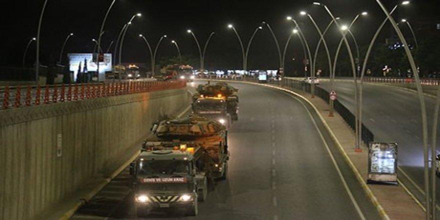 Rojava sınırına askeri sevkiyat!