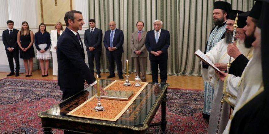 Yunanistan'da yeni hükümet göreve başladı