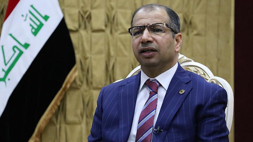 Irak Meclis başkanına yurtdışına çıkış yasağı