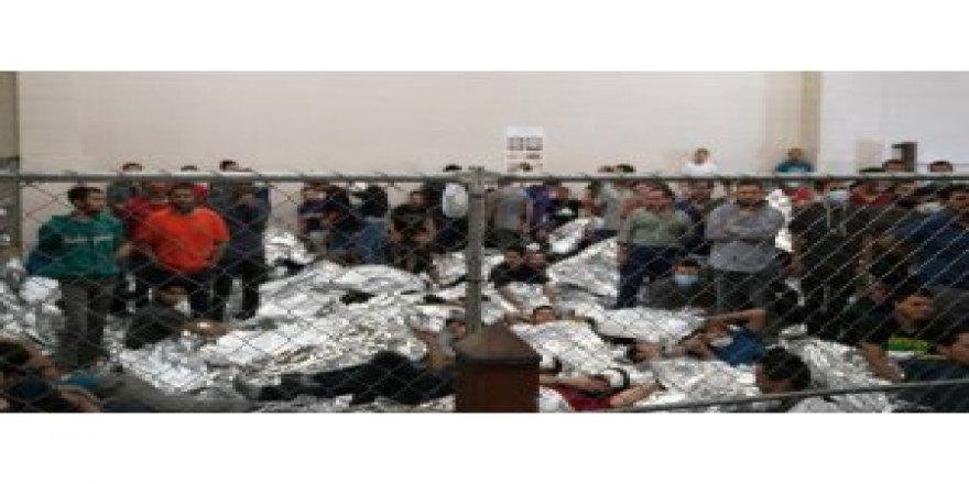 Göçmen merkezi görüntüleri gündem oldu!