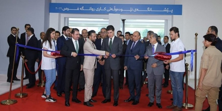 İş Fırsatları Fuarı Neçirvan Barzani'nin açılışı yapmasıyla start aldı
