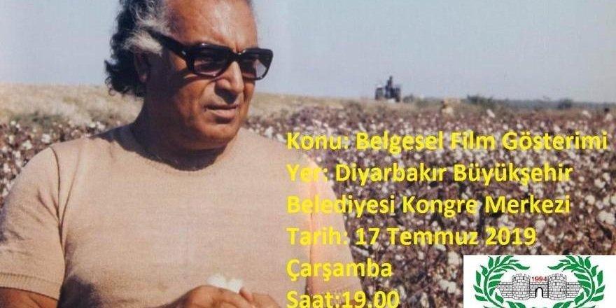 Yaşar Kemal efsanesi belgesel filmi Diyarbakır'da