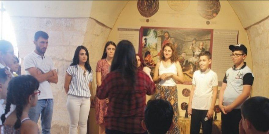 Mardin Müzesi'nde çocuklar için yaz okulu