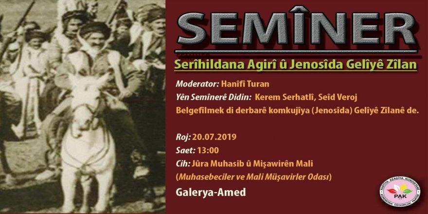 Amed'de Seminer