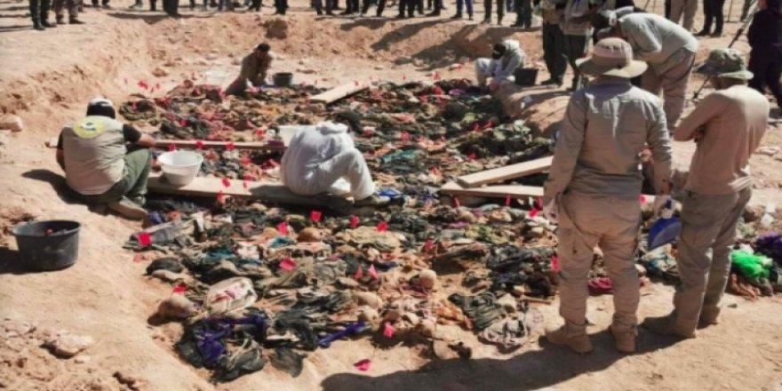 Güney Irak'ta katledilen kürtlerin toplu mezarı bulundu