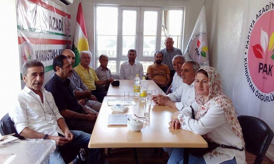 PAK (Partiya Azadiya Kurdistanê) Örgütlenme Çalışmalarına Hız Verdi