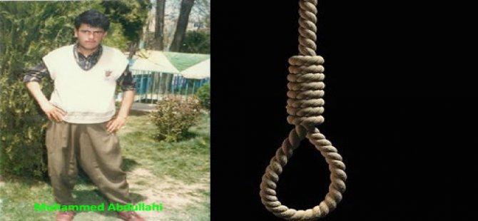 İran rejimi, Kürt aktivisti Abdullahi ve beş tutsağı daha idam etti
