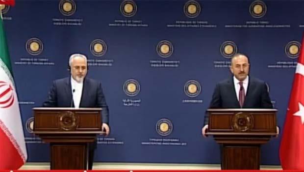 Çavuşoğlu: İran'la, Suriye'nin toprak bütünlüğü konusunda hemfikiriz