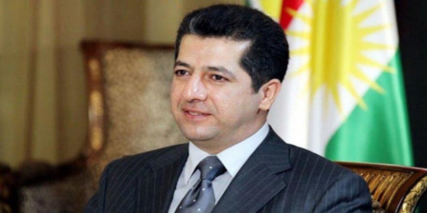 Başbakan Mesrur Barzani: Bayramda barış ve huzurun yeşermesini diliyorum