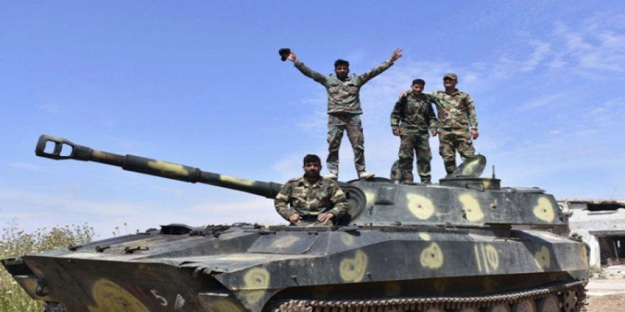 Suriye ordusu, İdlib'de bir kasabayı ele geçirdi