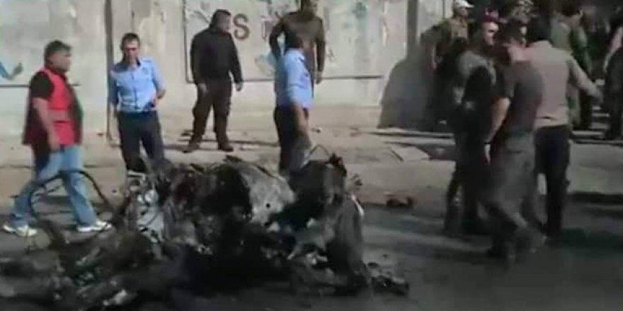 Kamışlo'da bombalı saldırı!