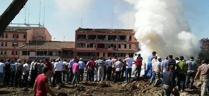 Elazığ Emniyet Müdürlüğü'ne bombalı araçla saldırı; 3 polis öldü oldu, en az 146 yaralı!