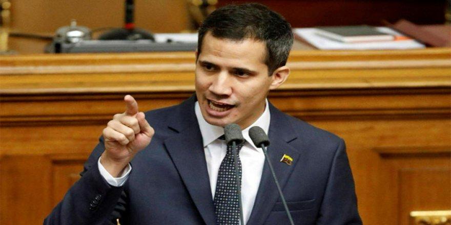 Guaido: Venezuela'da seçimler tamamıyla özgür olana dek devam etmeye karalıyız