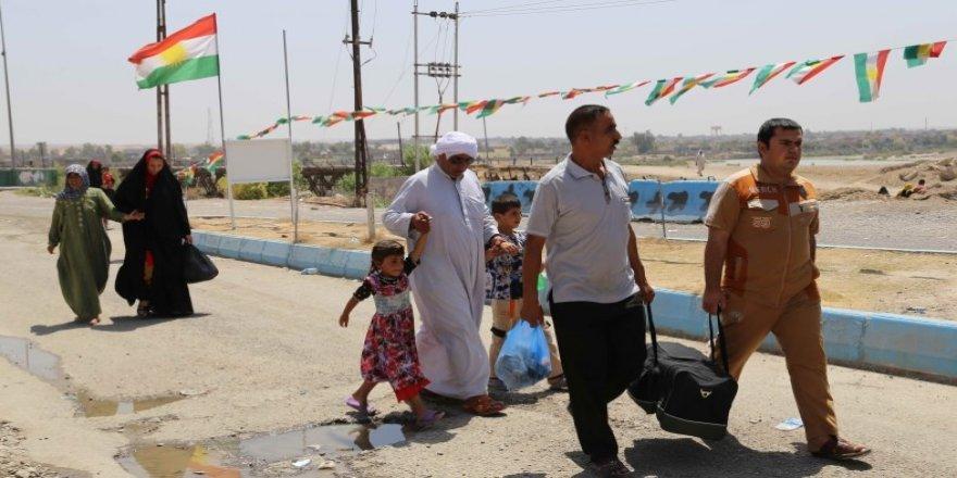 Kürtler Diyala'yı terk ediyor