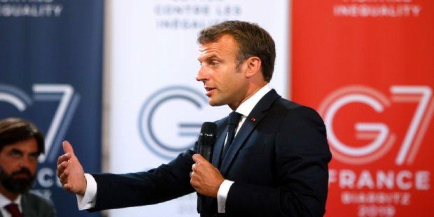 Macron: Konu bizi bizzat ilgilendirir