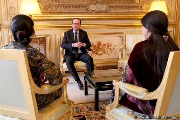 Hollande ile görüşmede yardım sözü aldık