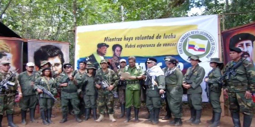 FARC'ın solu silaha sarıldı