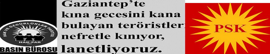 Terör halkların iradesini esir alamaz