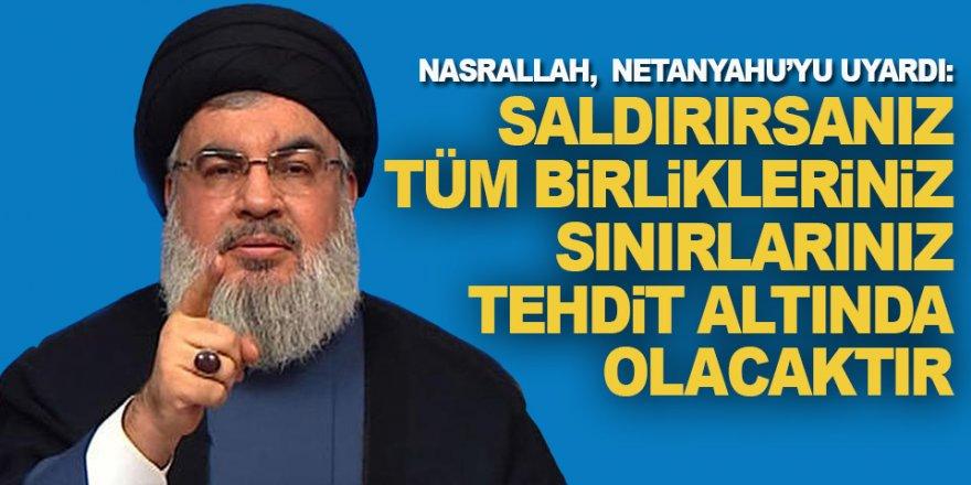 Nasrallah: Artık Kırmızı Çizgimiz Yok
