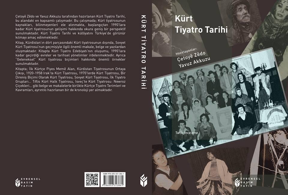 Kürt Tiyatro Tarihi (Kitap Tanıtım Bülteni)
