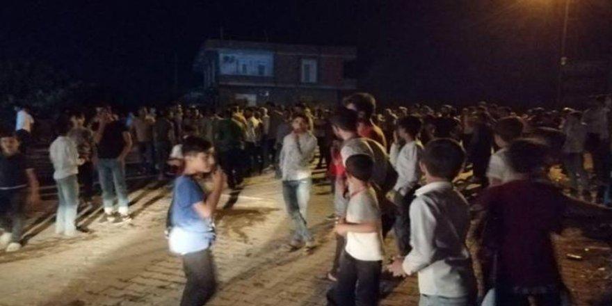Bismil'de Elektriği Kesilen Mahalleliye Biber Gazlı Müdahale